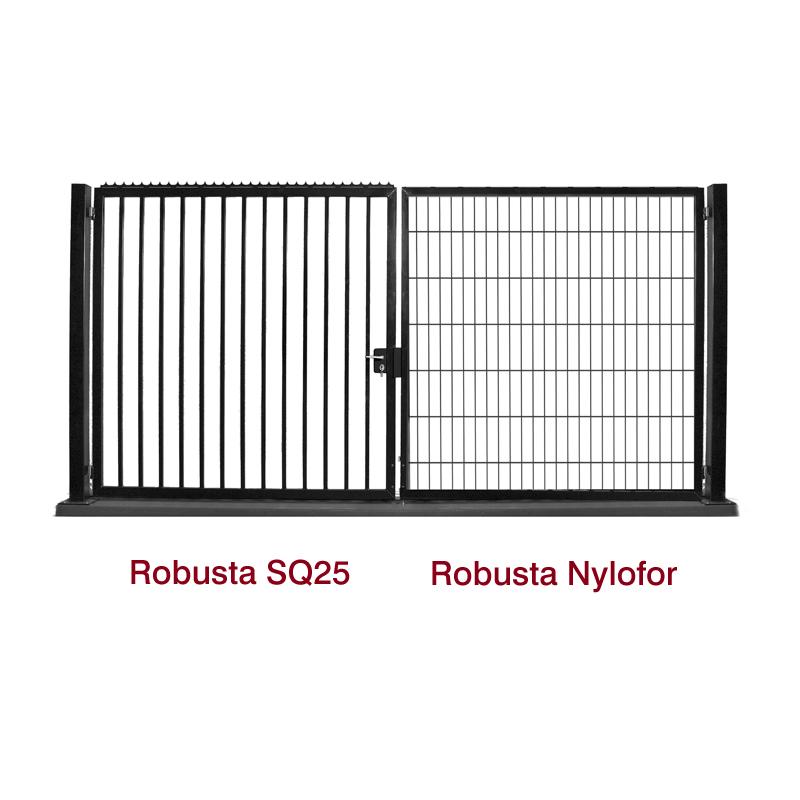 Bramy skrzydłowe Robusta SQ25 - Nylofor